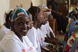 Women at the Aberdeen Womens Center Sierra Leone